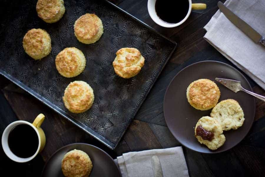 Life Changing Gluten Free Buttermilk Biscuits recipe { @beardandbonnet www.thismessisours.com }