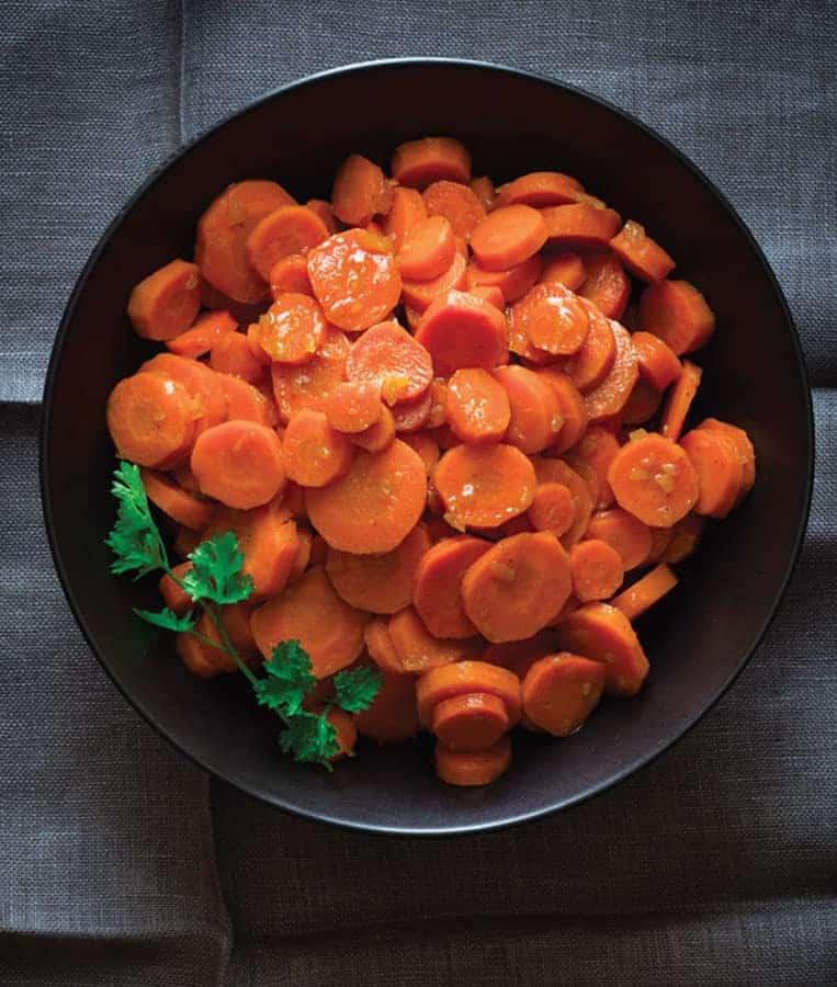 Maple Glazed Carrots recipe from Maple by Katie Webster on @beardandbonnet