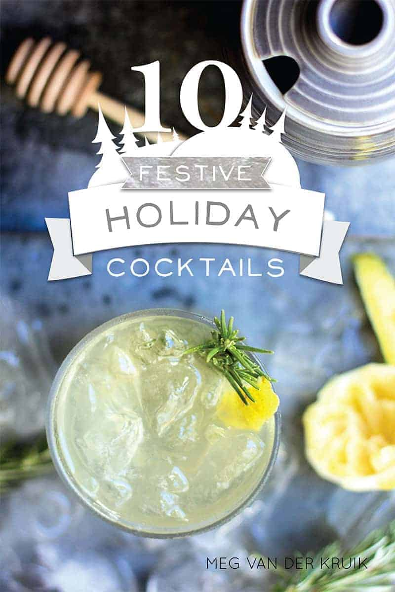10 Festive Holiday Cocktails eBook by @beardandbonnet. Free for a limited time at www.beardandbonnet.com