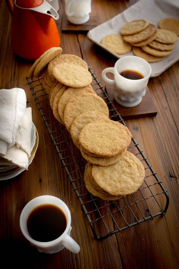 Orange Sugar Cookies recipe by @beardandbonnet on www.beardandbonnet.com