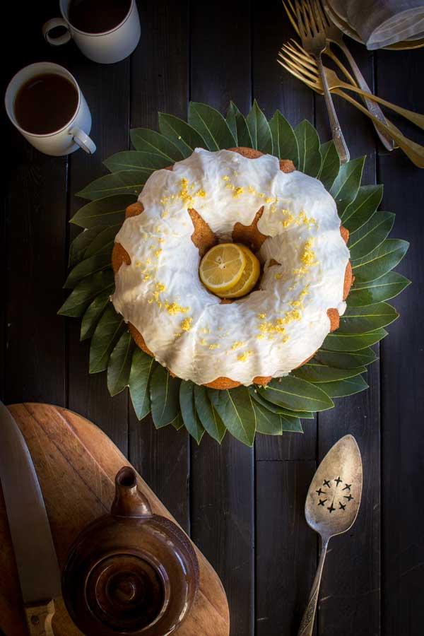 Gluten Free Meyer Lemon Poppy Seed Coffee Cake by @beardandbonnet on www.thismessisours.com