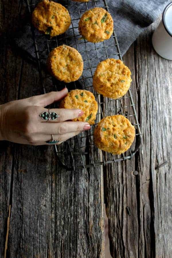 Vegan Thai Red Curry Biscuits by @beardandbonnet on www.thismessisours.com