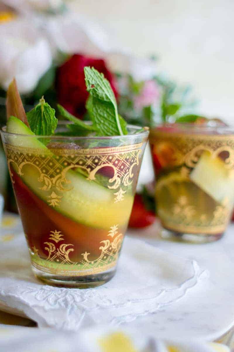 Party Perfect Pimm's Cup recipe by @beardandbonnet on www.beardandbonnet.com #BHGParty