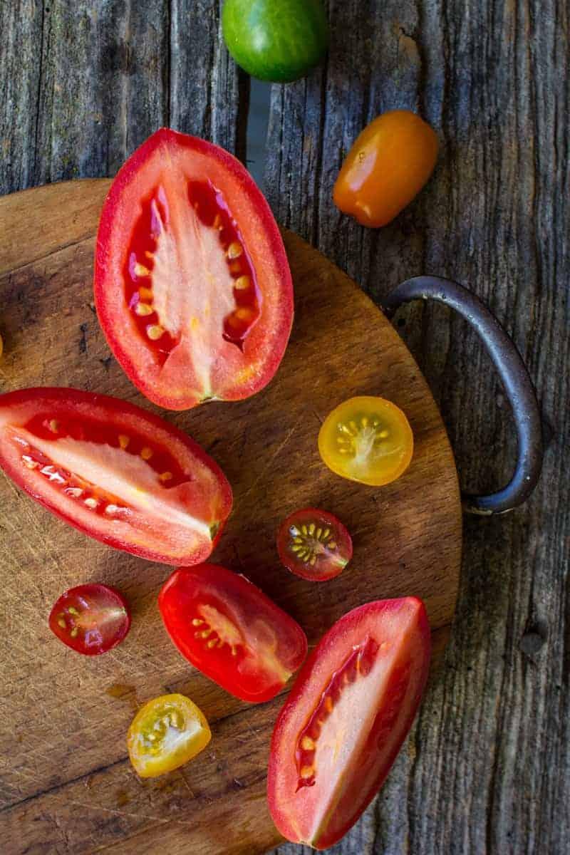 Simple Summer Gazpacho by @beardandbonnet with @masselfoods