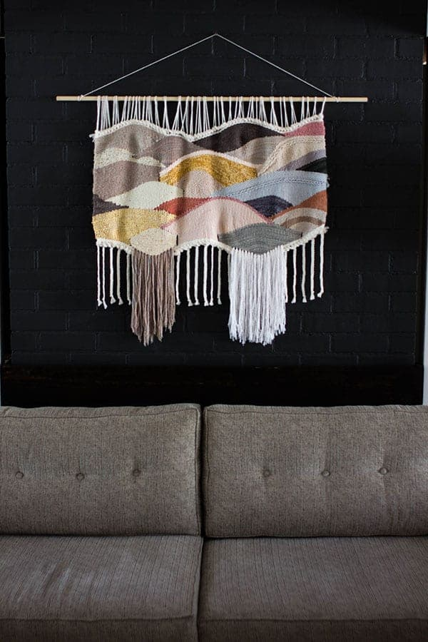 5 Wall Weavings For Every Budget || Farron Feiner || @thismessisours