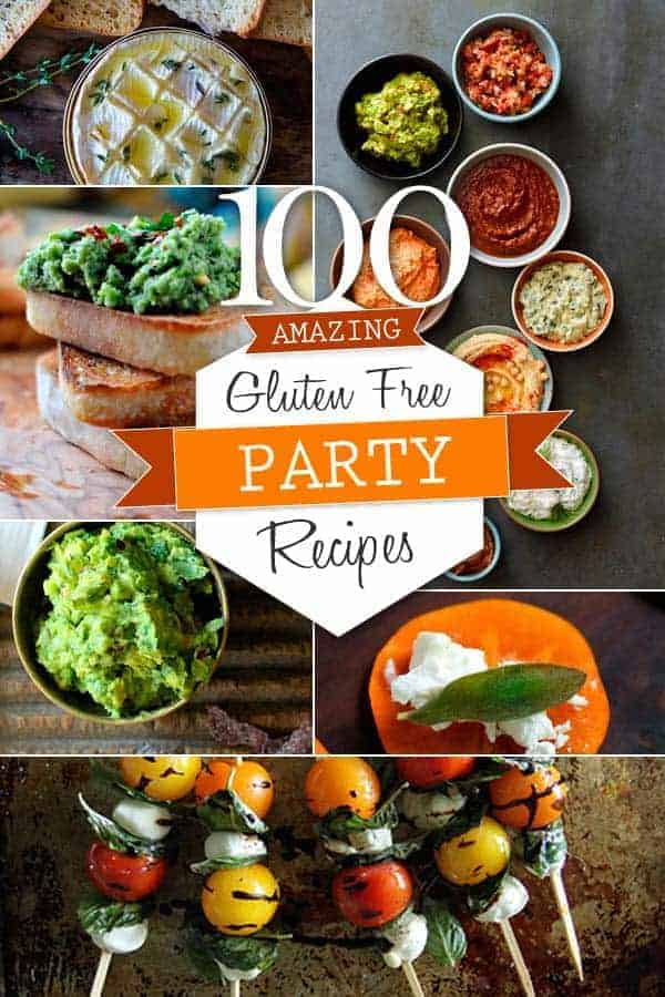 100 Gluten Free Party Recipes | @thismessisours