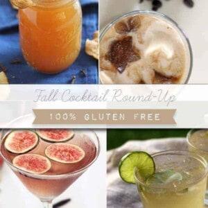 Gluten-Free Fall Cocktail Round Up {Beard and Bonnet} #glutenfree