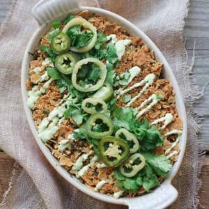 Enchilada Casserole (Gluten Free)