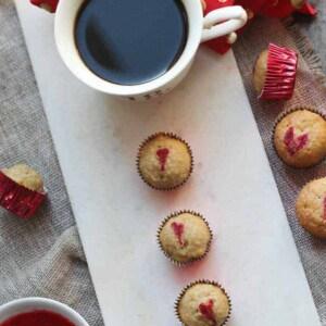 Heart Kissed Mini-Muffins {Beard and Bonnet} #glutenfree