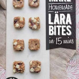 How To Make Homemade Lära Bites and Bars {Beard and Bonnet} #glutenfree #vegan