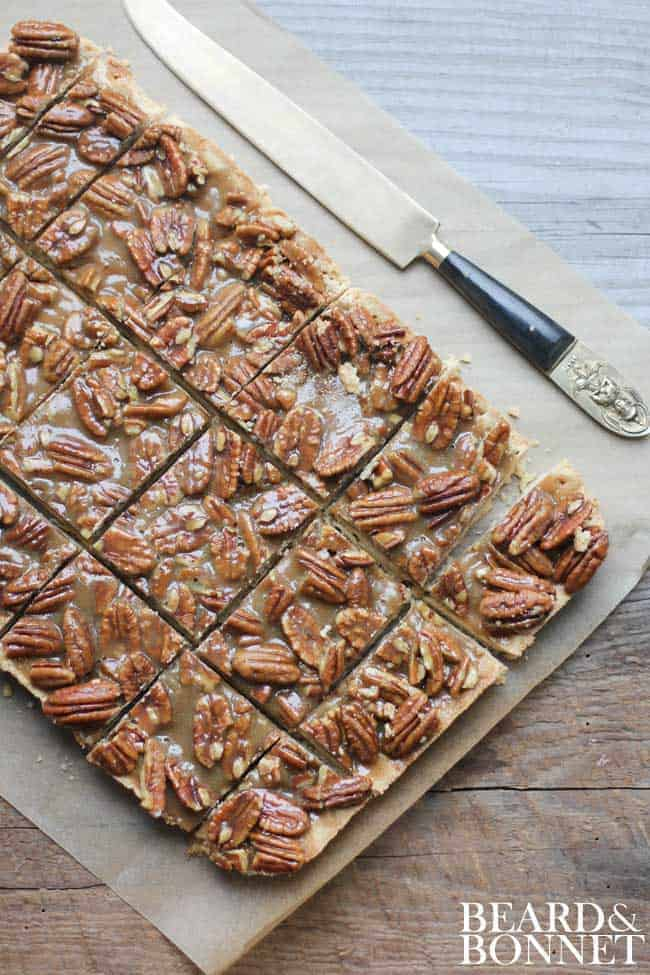 Pecan Pie Bars - This Mess is Ours