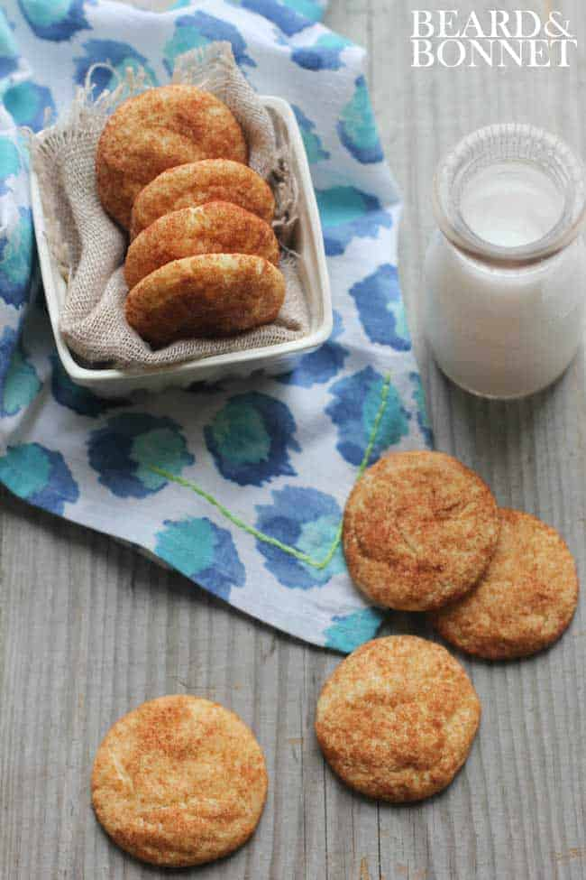 Snickerdoodles + Share The Love Giveaway {Beard and Bonnet} #glutenfree