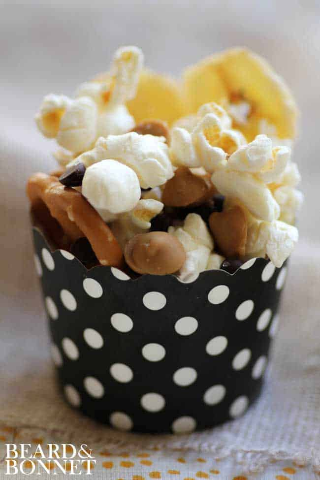 Chunky Monkey Popcorn {Beard and Bonnet} #glutenfree
