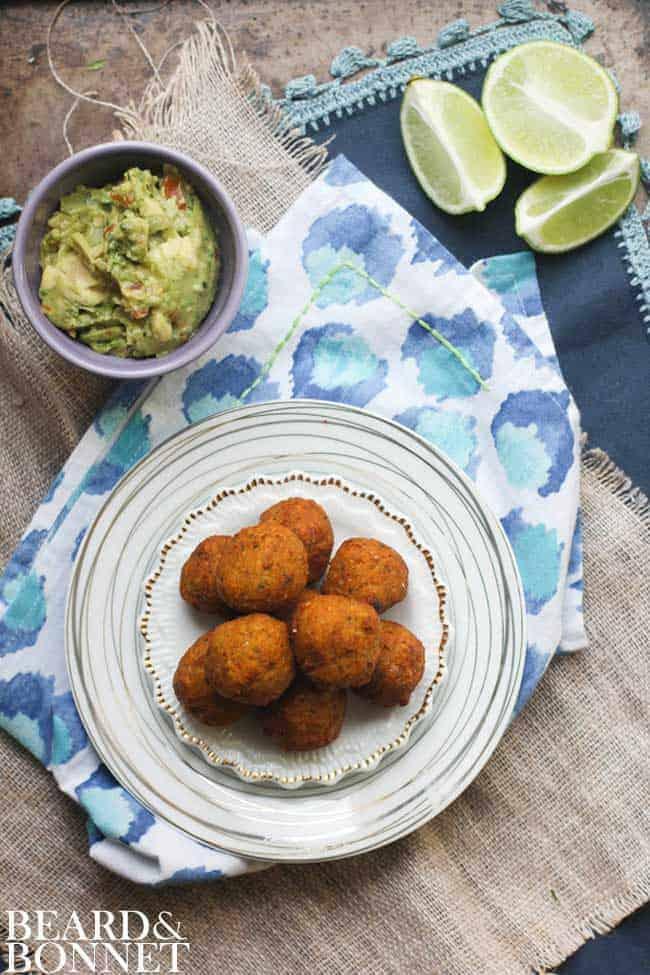 Sweet Potato and Millet Falafel {Beard and Bonnet} #glutenfree #vegan