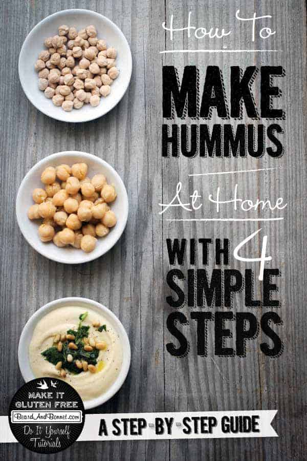 How To Make Hummus {Beard and Bonnet} #glutenfree #vegan #tutorial