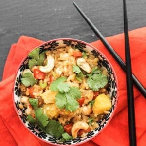 Vegetable Fried Rice With Pineapple {Beard & Bonnet} #glutenfree #vegan