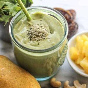 Mango Tango Smoothie {Beard and Bonnet} #glutenfree #vegan