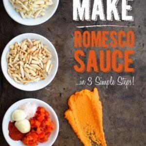 How To Make Romesco {Beard and Bonnet} #glutenfree #vegan