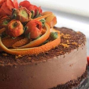 Raw Chocolate-Orange Torte From The Blender Girl Cookbook & A Giveaway #glutenfree #vegan #raw