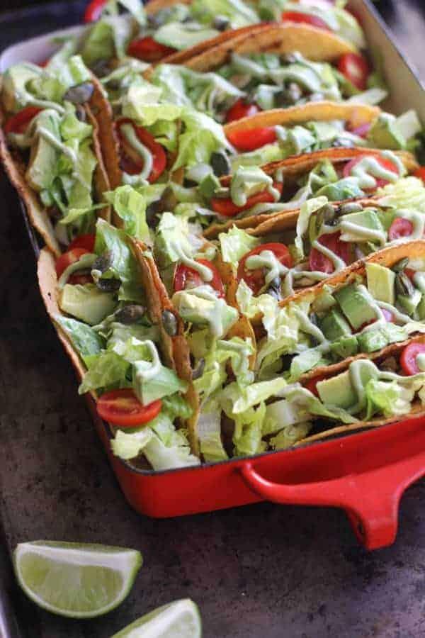 Super Easy Taco Bake recipe    @thismessisours #glutenfree #vegetarian