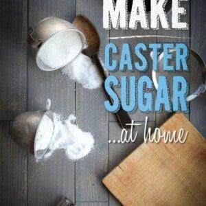 How To Make Caster Sugar {Beard and Bonnet} #glutenfree #vegan
