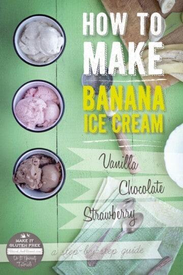 How To Make Banana Ice Cream {Beard and Bonnet} #glutenfree #vegan