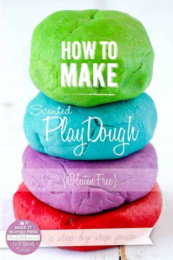 How To Make Gluten Free Scented Playdough {Beard and Bonnet}