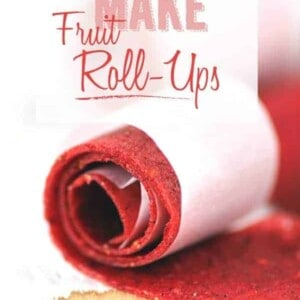 How To Make Fruit Roll-Ups {Beard and Bonnet} #glutenfree #vegan
