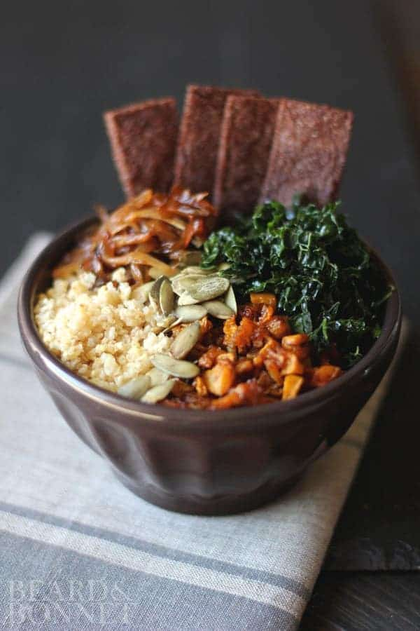 Fall Harvest Bowl {Beard and Bonnet} #glutenfree #vegan