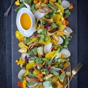 Summer's End Salad {Beard and Bonnet} #glutenfree #veganmofo2014 #vegan