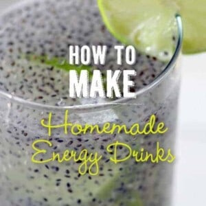 How To Make Homemade Energy Drinks {Beard and Bonnet} #glutenfree #vegan #VeganMoFo2014