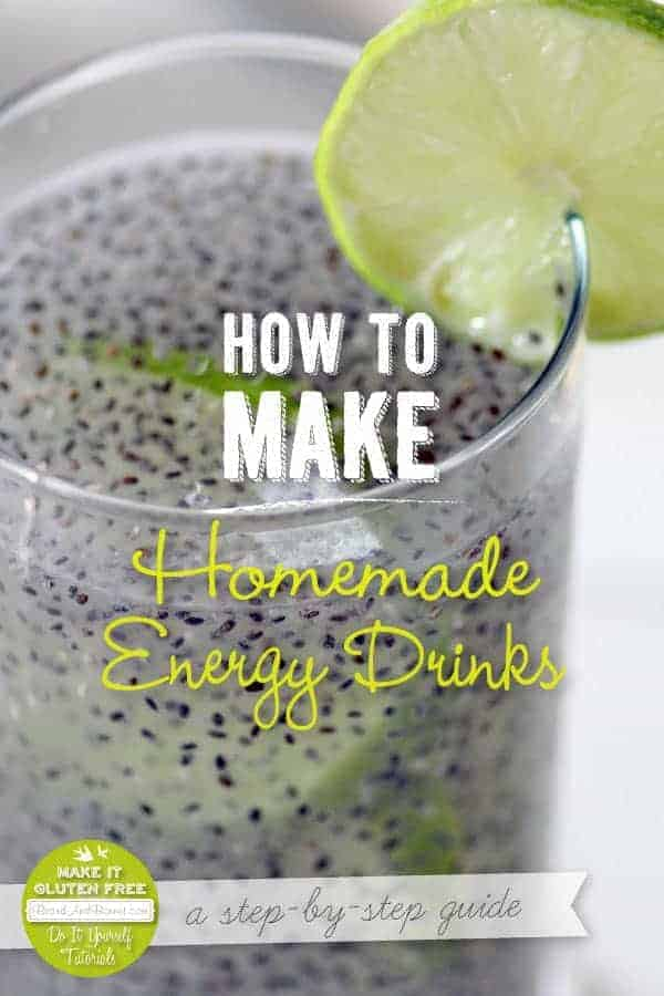 How To Make Homemade Energy Drinks {Beard and Bonnet} #glutenfree #vegan #VeganMoFo2014