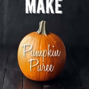 How To Make Pumpkin Puree {Beard and Bonnet}