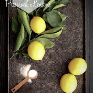 How To Make Preserved Lemons {Beard and Bonnet}