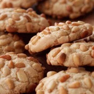 Gluten Free & Dairy Free Pignoli Cookies {Beard and Bonnet}