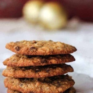 "Gluten Free ""Banana Bread"" Chocolate Chip Cookies {Beard and Bonnet}"
