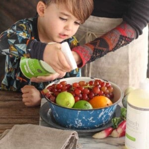 Clean Your Fruits and Veggies Safely with Branch Basics {Beard and Bonnet}