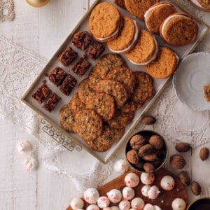 Chocolate Chip Pecan Pie Bars {Beard and Bonnet}