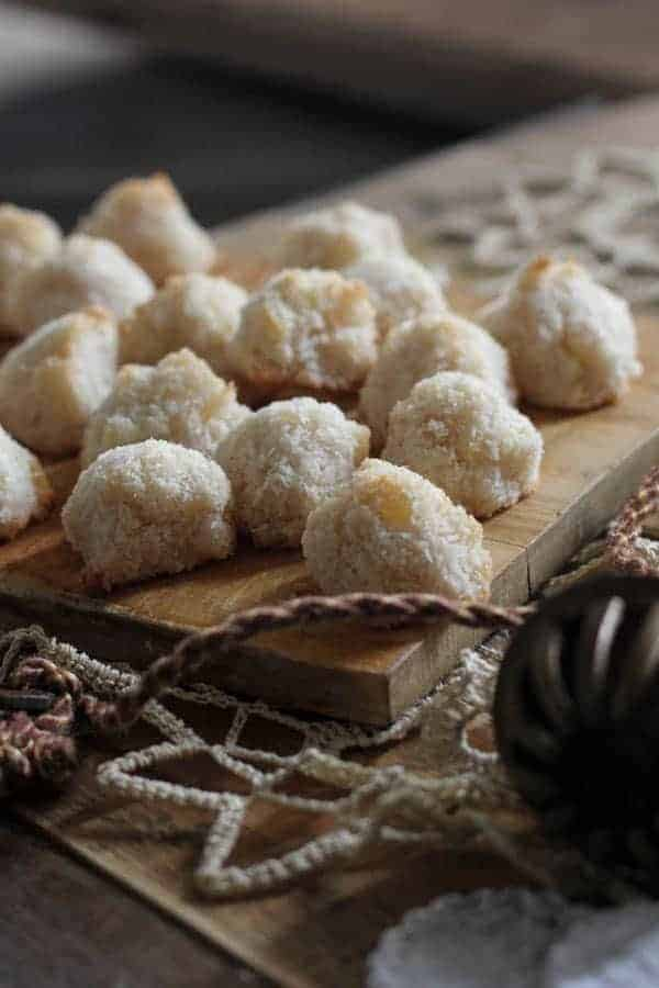 Ginger Coconut Macaroons {Beard and Bonnet}