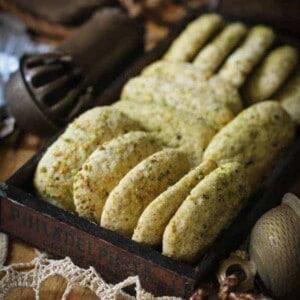 Gluten Free Pistachio Logs