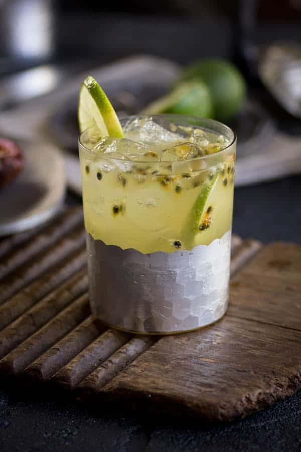 Pineapple and Passion Fruit Fizz recipe { @beardandbonnet www.beardandbonnet.com}