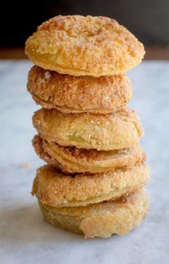 Gluten Free Fried Green Tomatoes recipe by @beardandbonnet www.thismessisours.com