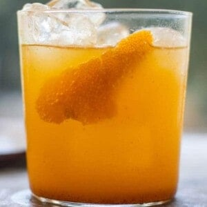 Dark and Stormy in the Pumpkin Patch recipe by @beardandbonnet www.thismessisours.com