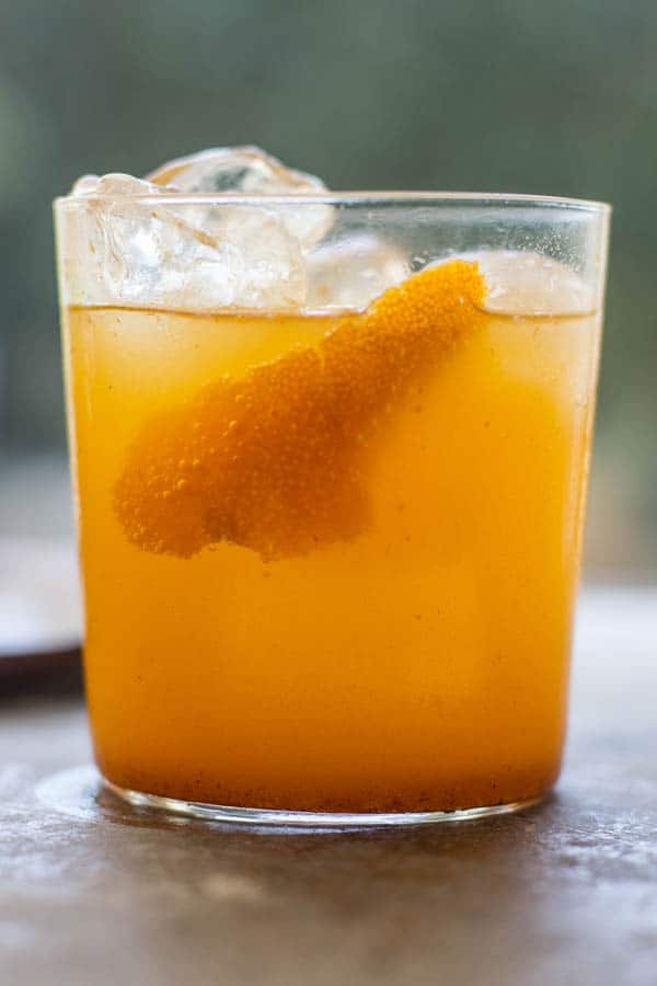 Dark and Stormy in the Pumpkin Patch recipe by @beardandbonnet www.beardandbonnet.com