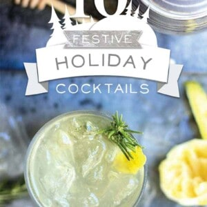 10 Festive Holiday Cocktails eBook by @beardandbonnet. Free for a limited time at www.thismessisours.com