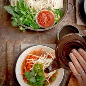 30 Minute Pho recipe by @beardandbonnet on www.thismessisours.com