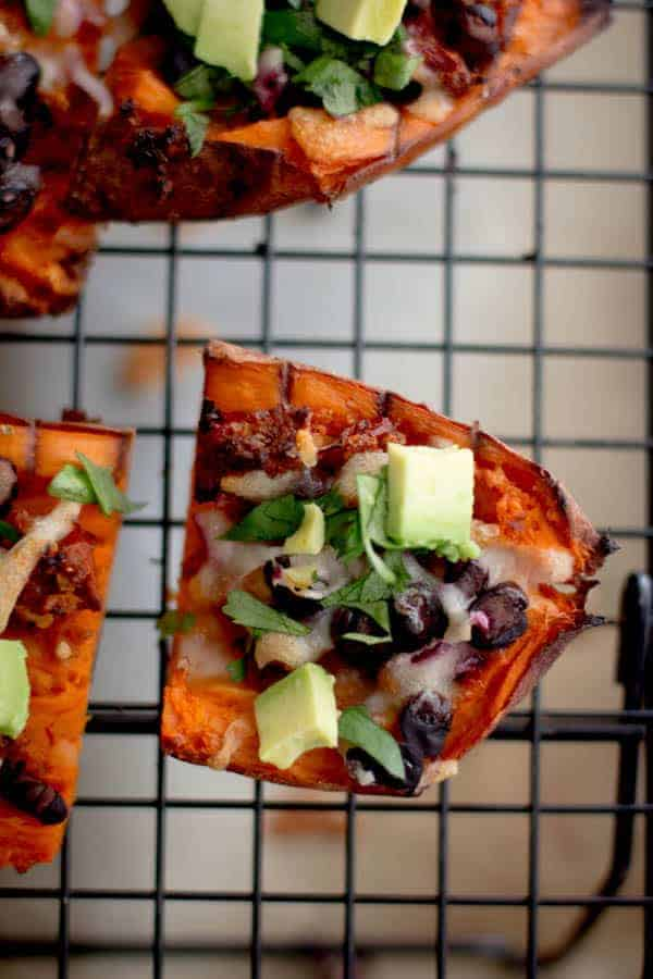 Sweet Potato Skins recipe by @beardandbonnet on www.beardandbonnet.com