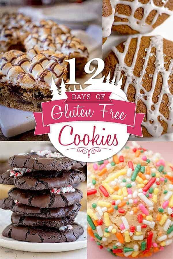 12 Days of Gluten Free Cookies recipes by @beardandbonnet on www.beardandbonnet.com