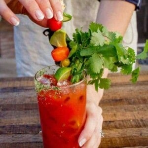 California Fresh Bloody Mary recipe by @beardandbonnet on www.thismessisours.com