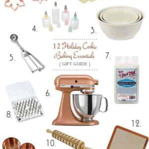 12 Holiday Cookie Baking Essentials on @beardandbonnet